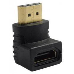 Adaptateur HDMI Mâle vers HDMI Femelle 90°