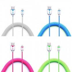 Câble élastique Cantell USB vers Lightning