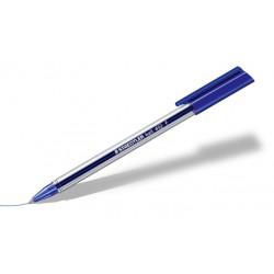 Stylo à bille triangulaire Staedtler 432 M / Bleu