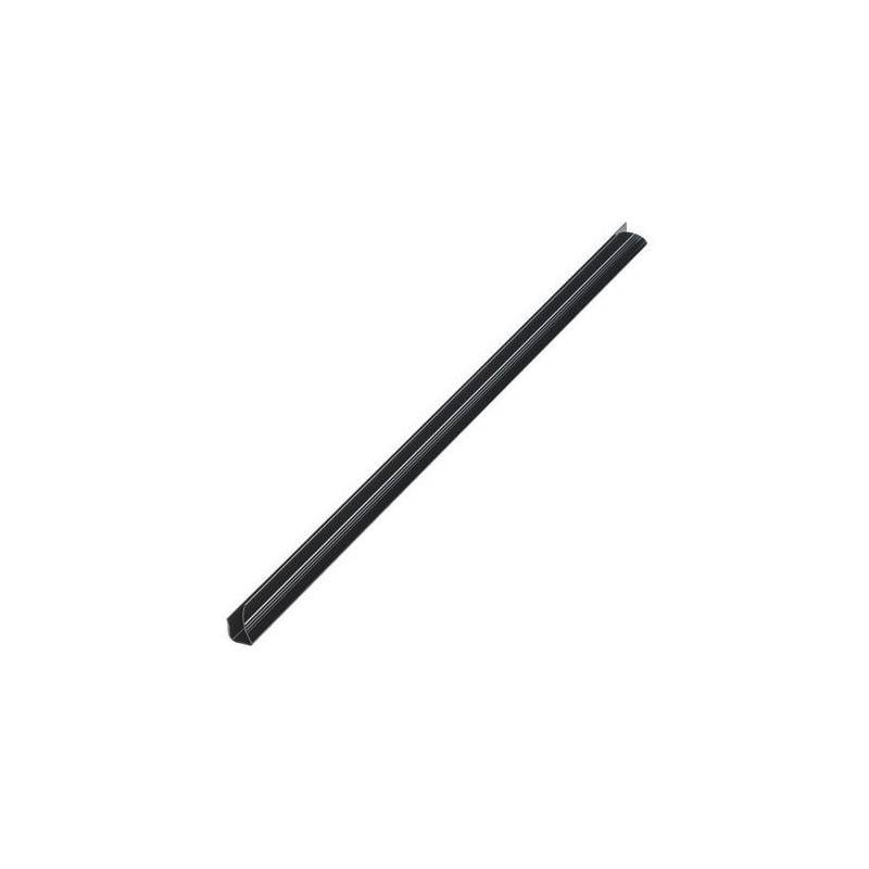 Baguette reliure plastique 4/10mm / Noir
