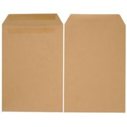 100x Enveloppes Kraft 176 x 250 mm