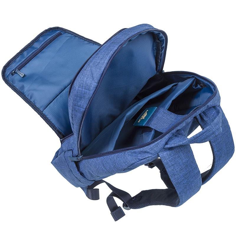 "Sac à dos pour PC Portable 15.6"" Rivacase 7560 / Bleu"