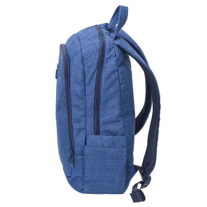 sac dos pour pc portable 15 6 rivacase 7560 bleu. Black Bedroom Furniture Sets. Home Design Ideas