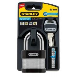 Cadenas à clé laminé Stanley / 50mm