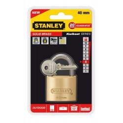 Cadenas à clé en laiton Or Stanley / 40mm