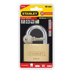 Cadenas à clé en laiton Or Stanley / 60mm
