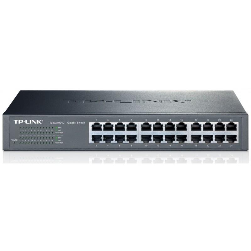 Switch rackable/de bureau 24 ports Gigabit