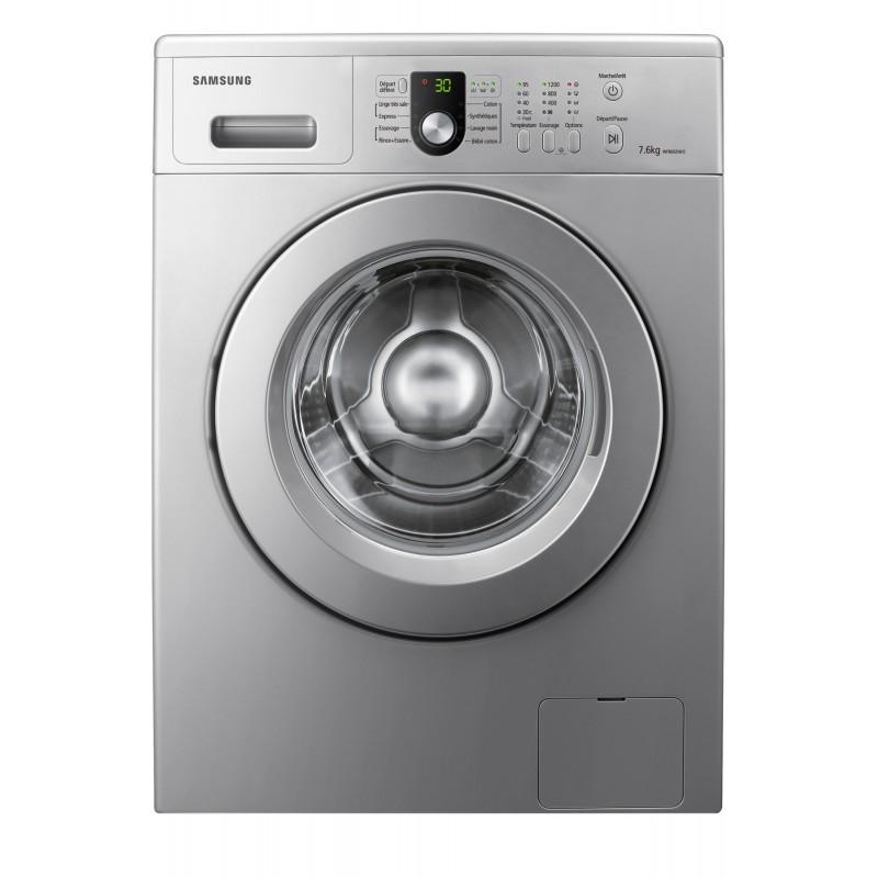 machine laver automatique 7 6 kg silver. Black Bedroom Furniture Sets. Home Design Ideas