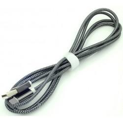 Câble USB Vers Lightning Blindé Zink 1.5m