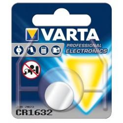 Pile électronique Bouton Lithium Varta CR1632