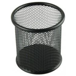 Porte Stylo Cylindre en métal / Noir