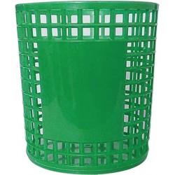 Porte Stylo Cylindre en plastique / Vert