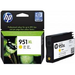 Cartouche Originale Grande Capacité HP 951XL / Yellow
