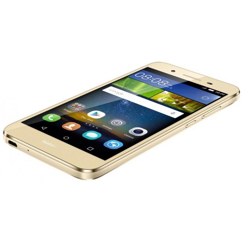 Téléphone Portable Huawei GR3 / 4G / Double SIM / Gold