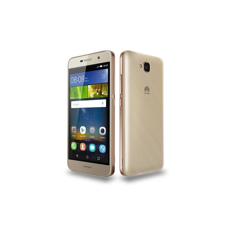 Téléphone Portable Huawei Y6 Pro / Gold Film de protection Coque SIM Offerte