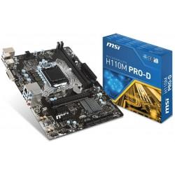Carte mère MSI H110M PRO-D / socket 1151