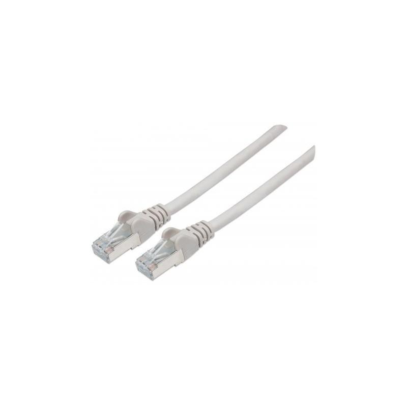 Câble Réseau RJ45 SFTP Cat6 / 1M / Gris