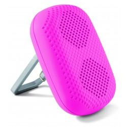 Mini Enceinte Ksix Bluetooth avec Socle intégré / Rose