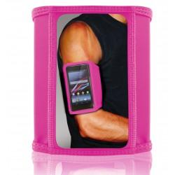 Brassard de sport Ksix pour Smartphone / Taille M / Rose
