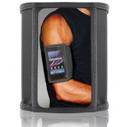 Brassard de sport Ksix pour Smartphone / Taille S / Noir