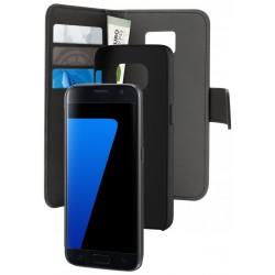 Etui Cover Flip Puro Pour Samsung Galaxy S7 / Noir