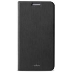 Etui Cover Flip Puro Pour Samsung Galaxy A3 / Noir