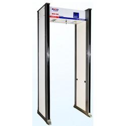Porte de détection de métaux 6 Zones de sécurité