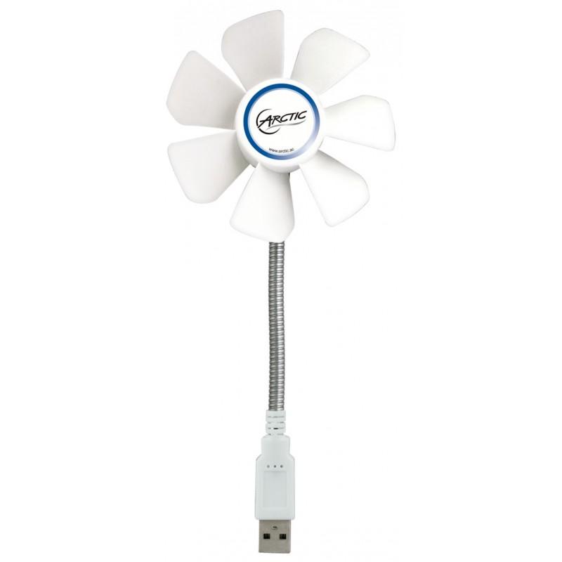 Ventilateur de Bureau Flexible avec Support 92 mm Arctic Breeze / Blanc