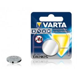 5x Piles électronique Bouton Lithium Varta CR2025