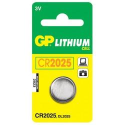Pile Bouton GP Lithium 3V CR2025