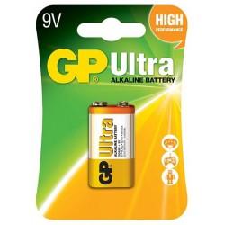 Pile GP Ultra Alcaline 9V