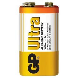 Pile GP Ultra Alkaline 9V