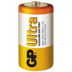 2x Piles GP Ultra Alkaline C LR14