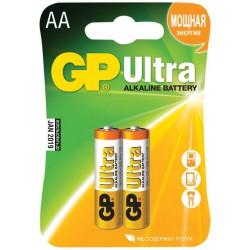 2x Piles AA GP Ultra Alkaline LR06