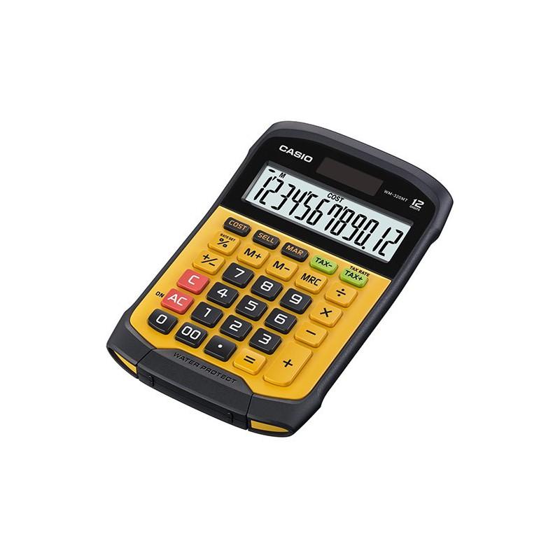 Calculatrice résistante à l'eau Casio WM-320MT