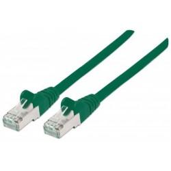 Câble réseau LSOH Cat6 SFTP 1M Vert