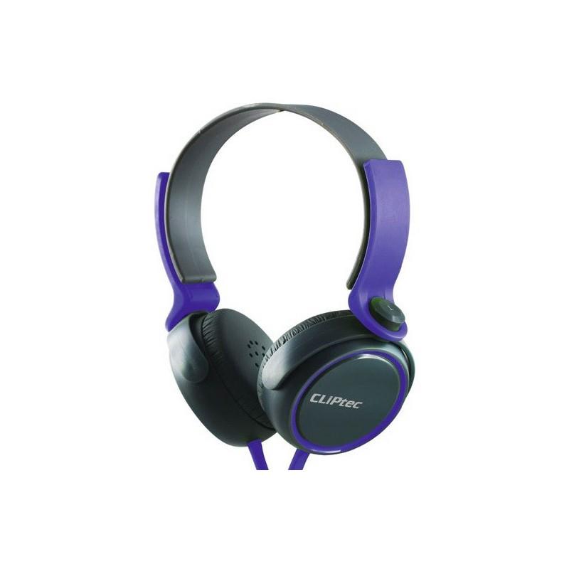 Casque stéréo Multimédia Cliptec URBAN ROXX BMH834 / Violet