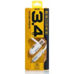 Chargeur Allume Cigare avec Cable 2en1 Remax RCC102
