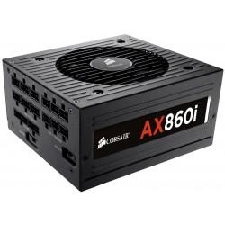 Boite d'alimentation Corsair AX860i 80PLUS Platinum Modulaire Semi-passive 860W