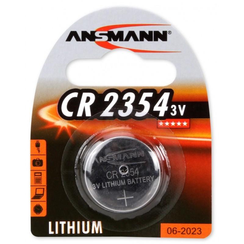 Pile Bouton Ansmann Lithium CR2354 / 3V 158mAh