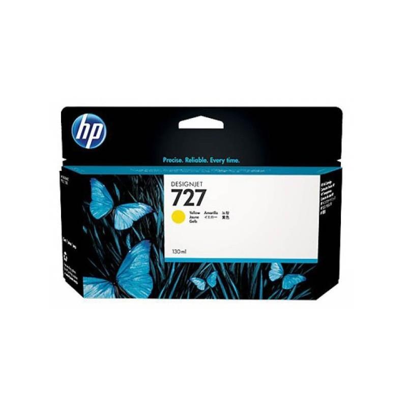 Cartouche HP 727 Jaune Originale