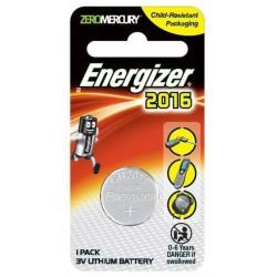 Pile Energizer CR2016 Lithium 3V