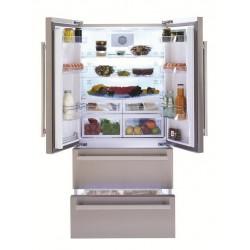 Réfrigérateur BEKO Side By Side / Silver