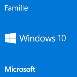 Microsoft Windows 10 Home 64 bits (français) - OEM