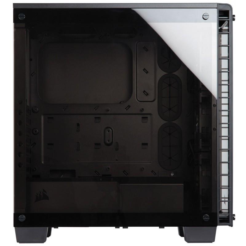 Boitier Gamer Corsair Crystal 460X avec fenêtre