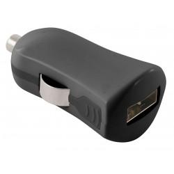 Chargeur Voiture Allume-cigare Ksix USB 2A / Noir