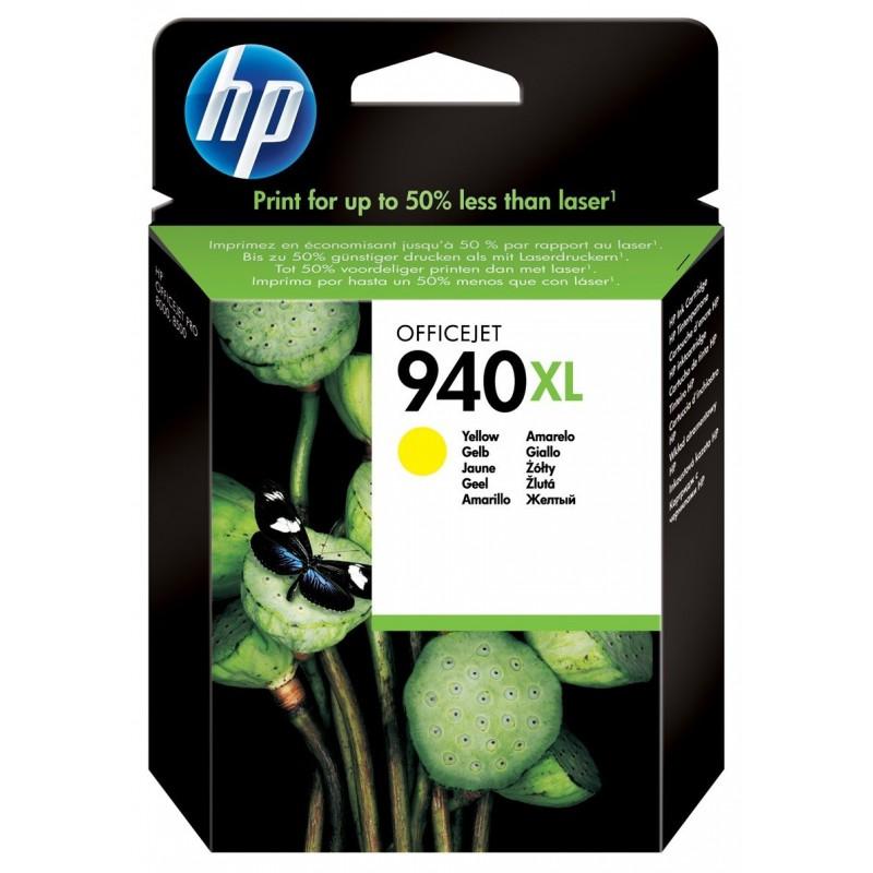 Cartouche authentique HP 940XL / Jaune