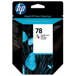 Cartouche d'encre trois couleurs authentique HP 78