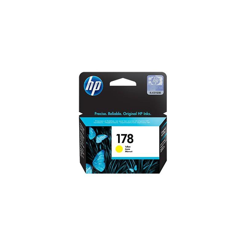 Cartouche d'encre authentique HP 178 / Jaune