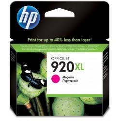 Cartouche d'encre authentique haute capacité HP 920XL / Magenta